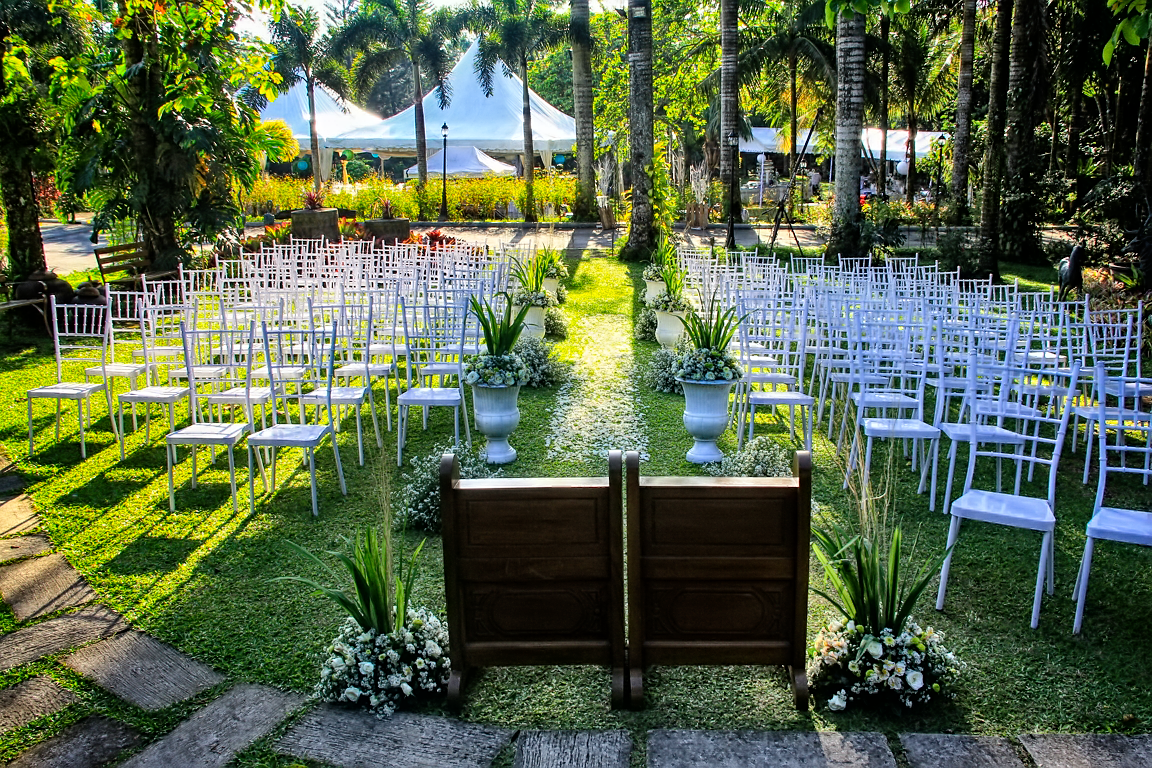 Bohemian Dining Room Hillcreek Gardens Tagaytay Garden Wedding Venue